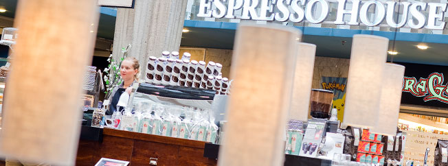 Espresso House butiksbild