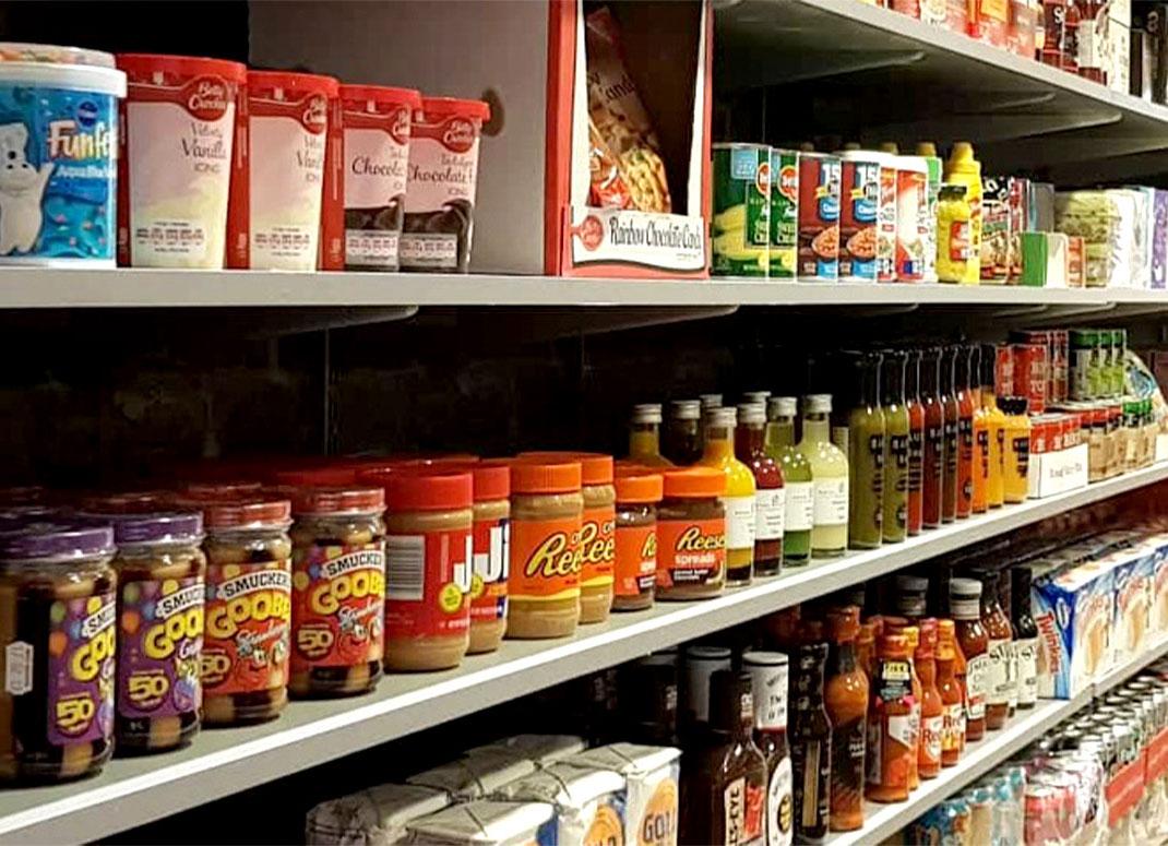 Tasty America butiksbild