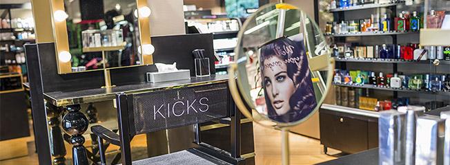 Kicks butiksbild